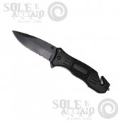 Coltello Chiudibile Safety Nero